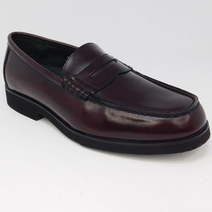 Rockport Men's Dress Shoes Brown Leather Loafers